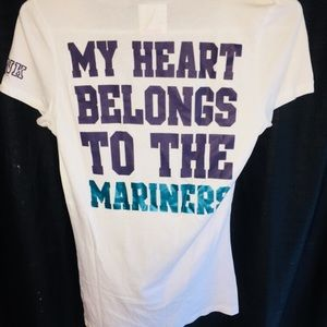 💋VICTORIA SECRET PINK💋 Seattle Mariners⚾️ Tee